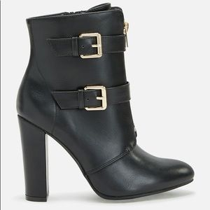 BRAND NEW. NEVER WORN black booties